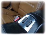 Mazda MX 5 MX5 NA - Fensterheber Blende - EDELSTAHL
