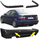 STOßLEISTEN PASSEND FÜR BMW E39 95-03 MIT SPORT HECK STOßSTANGE UND PDC