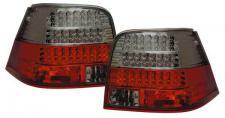 LED RÜCKLEUCHTEN ROT SCHWARZ für VW Golf 4 97-03