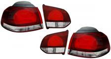 RÜCKLEUCHTEN GTI R OPTIK SET für Golf 6 Limousine 5K1 AJ5 ab 2008