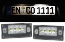 LED KENNZEICHENBELEUCHTUNG WEISS 6000K FÜR Audi A4 S4 Avant B5 99-01 A3 8L 00-03
