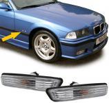 BMW E36 ab 96 + BMW X5 E53 KLARGLAS SEITENBLINKER KRISTALL