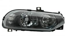 H1 / H7 SCHEINWERFER SCHWARZ RECHTS TYC FÜR ALFA ROMEO 156 GTA 97-03