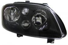 H7 H7 SCHEINWERFER SCHWARZ MIT STELLMOTOR RECHTS f. VW Touran 03-06 +Caddy 04-10