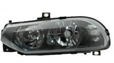 H1 / H7 SCHEINWERFER SCHWARZ LINKS TYC FÜR ALFA ROMEO 156 GTA 97-03