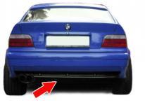 SPORT HECK DIFFUSOR EINSATZ FÜR SERIEN STOßSTANGE BMW 3ER E36
