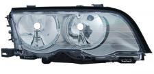 H7 / H7 SCHEINWERFER TITANIUM RECHTS TYC FÜR BMW 3ER Limousine Touring E46 98-01