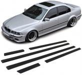 SPORT STOßLEISTEN ZIERLEISTEN TÜRLEISTEN SET FÜR BMW 5ER E39 Limousine 95-03