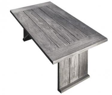 strandgut07 couchtisch recyceltes teak grau finish ca 120. Black Bedroom Furniture Sets. Home Design Ideas