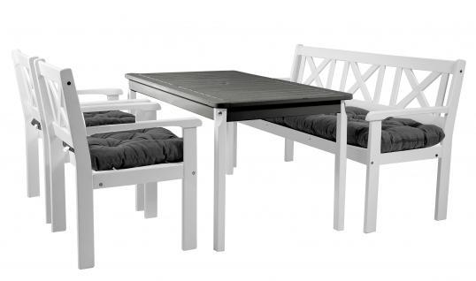 gartenmobel holz weiss lackiert. Black Bedroom Furniture Sets. Home Design Ideas