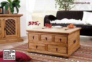truhentisch pinie bestseller shop f r m bel und einrichtungen. Black Bedroom Furniture Sets. Home Design Ideas