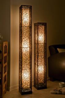 Exklusive stehlampe stehleuchte lampen mit rattan kaufen for Hochwertige stehlampen