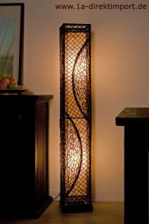 exklusive stehlampe stehleuchte lampen mit rattan kaufen bei 1a direktimport. Black Bedroom Furniture Sets. Home Design Ideas