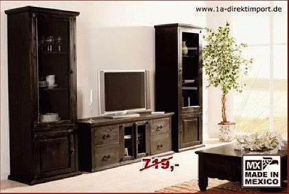 riesen kolonialstil tv tisch lowboard kommode kaufen bei. Black Bedroom Furniture Sets. Home Design Ideas
