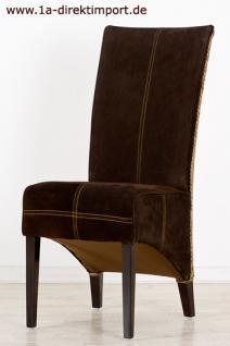 Exklusiver Lederstuhl Granada, Leder, Rattanstuhl - Vorschau 2