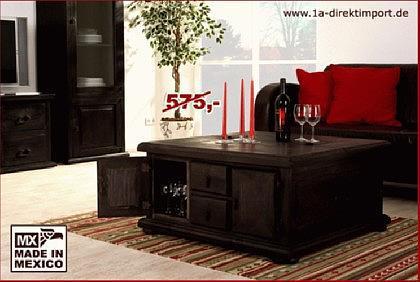 truhentisch mexico wohnzimmer gestaltung. Black Bedroom Furniture Sets. Home Design Ideas