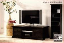 Kolonial TV-Tisch / Lowboard / Couchtisch, Pinie