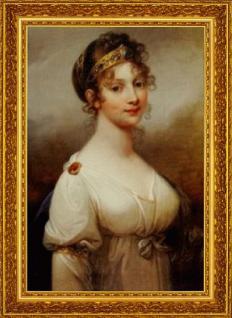 """Josef Grassi """"Luise, Königin von Preußen""""; gerahmt"""