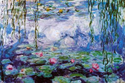 Monet - Ninfee (ca. 95cm x 75cm), gerahmt - Vorschau 1