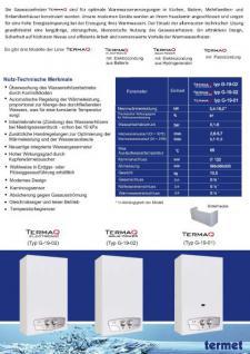 "Gas Durchlauferhitzer TermaQ ""Aqua Power"" - modulierbar 7,7-19,2 KW - Vorschau 2"