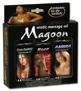 Magoon Massage-Öl - 3er-Set 100 ml
