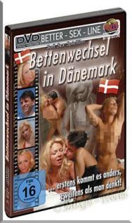 Erotik DVD Video - Bettenwechsel in Dänemark