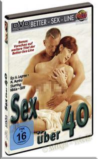 Erotik DVD Sex über 40 - Better Sex Line