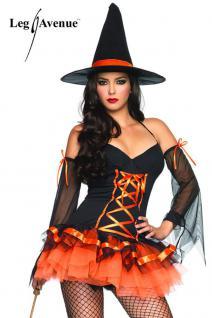 Leg Avenue - Verspieltes Hocus Pocus Hottie Minikleid Kostüm