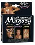 Magoon Massage-Öl - 3er-Set 50 ml
