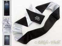 Fifty Shades of Grey - Augenbinde All Mine schwarz-silber