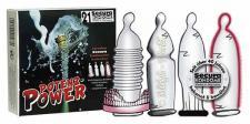 Secura Kondome Potenz-Power-Set mit Ring- 21er Sparpack
