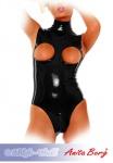 Anita Berg - Ärmelloser Latex Body mit Zip ouvert