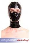 Anita Berg - Latex Kopfmaske mit offenem Augenbereich