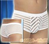 Rasante Pants / Shorts weiß-transparent