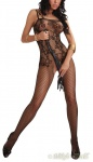 LivCo Netz Catsuit / Bodystocking ORRIENNE ouvert