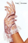Leg Avenue - Elegante kurze Spitzen-Handschuhe in diversen Farben