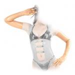 Anita Berg - Hautenge lange Latex Handschuhe transparent