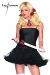 Leg Avenue - Enges Mini-Kleid mit Tüll-Petticoat in diversen Farben