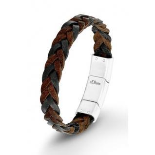S.Oliver Herren Leder Armband SO1282/01