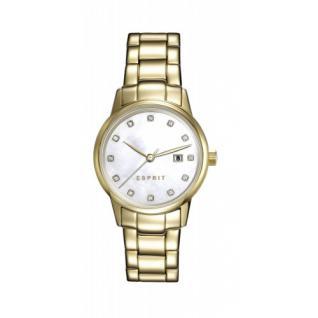 ESPRIT Damen Uhr Medium Gold ES100S62010