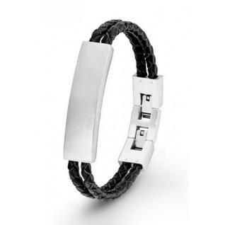 S.Oliver Herren Leder Armband SO1378/01