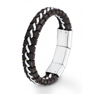 S.Oliver Herren Leder Armband SO683/01