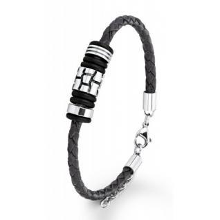 S.Oliver Herren Leder Armband SO753/01
