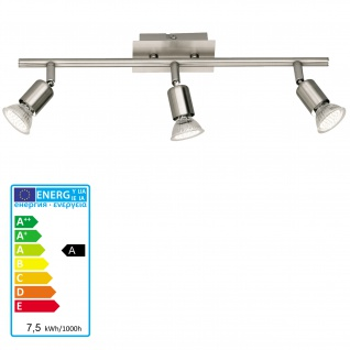 Reality|Trio LED Deckenleuchte Deckenlampe 3flammig incl. LM