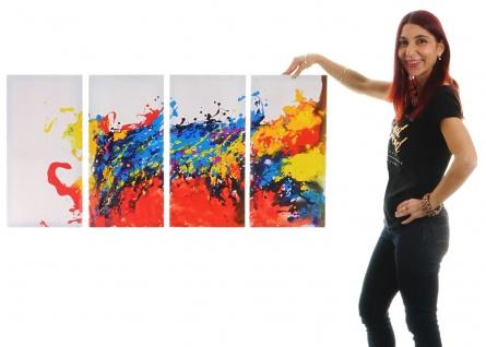 Ölgemälde Wave, 100% handgemaltes Wandbild XL, 120x60cm