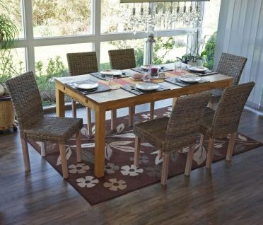 esszimmer stuhl rattan online bestellen bei yatego. Black Bedroom Furniture Sets. Home Design Ideas