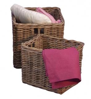 korb aus rattan g nstig sicher kaufen bei yatego. Black Bedroom Furniture Sets. Home Design Ideas