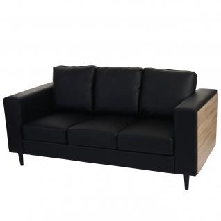 kunstleder couch g nstig sicher kaufen bei yatego. Black Bedroom Furniture Sets. Home Design Ideas
