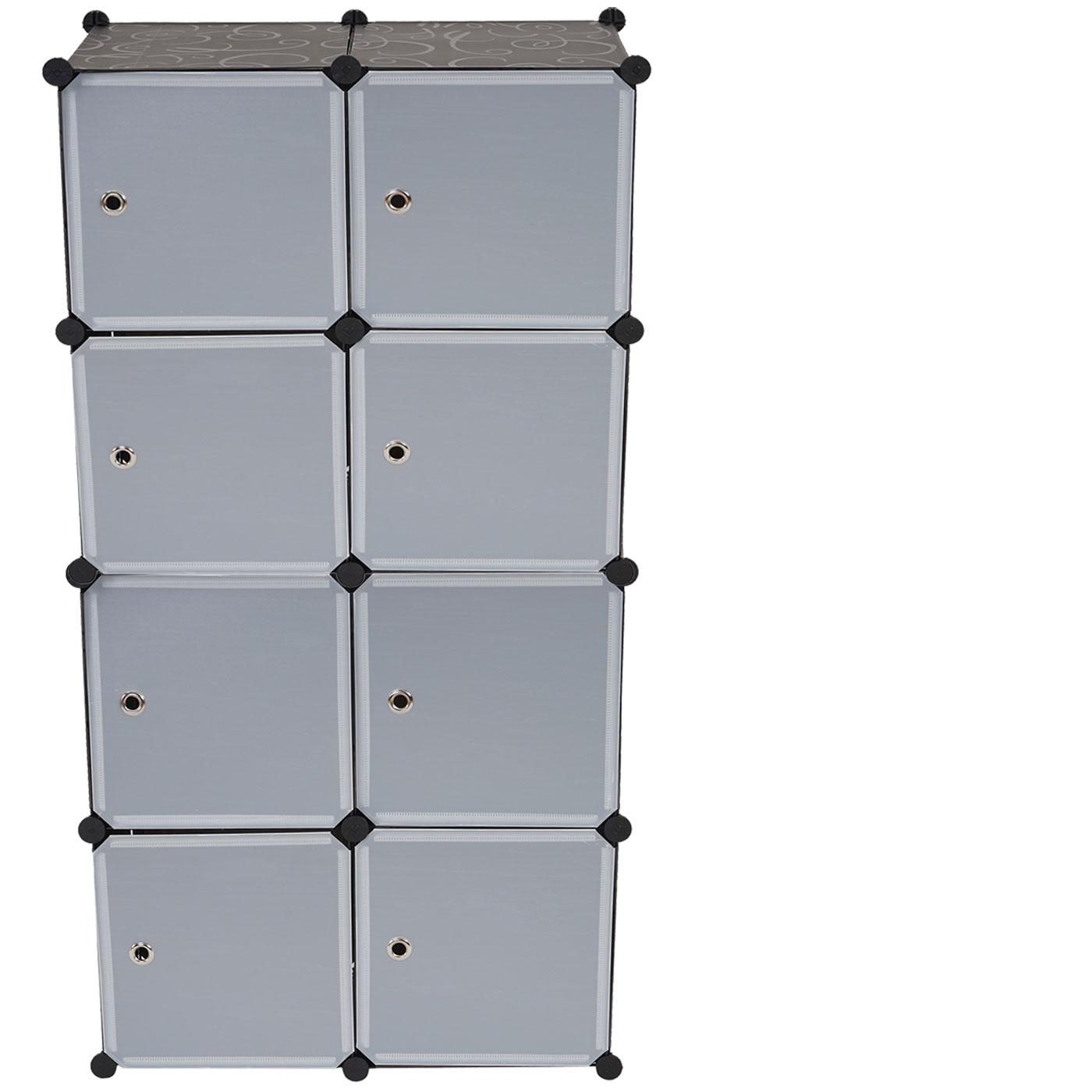 regalsystem sydney t307 steckregal 8 boxen je 36x36x36cm schwarz kaufen bei mendler. Black Bedroom Furniture Sets. Home Design Ideas