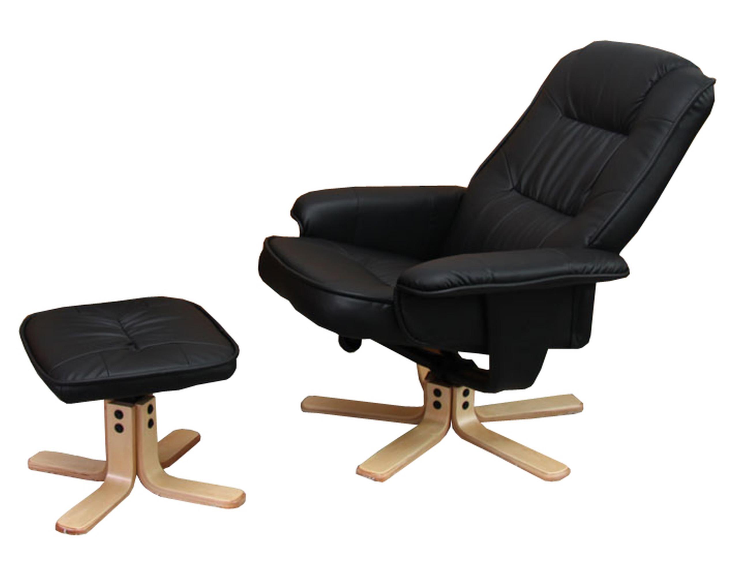 relaxsessel fernsehsessel kunstleder schwarz kaufen. Black Bedroom Furniture Sets. Home Design Ideas